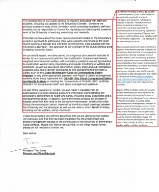 UoB Dubai campus construction reply (JB) (2)