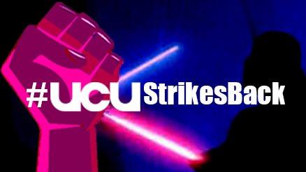 #UCUstrikesBack meme image